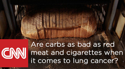 Are carbs as bad as red meat and cigarettes when it comes to lung cancer?