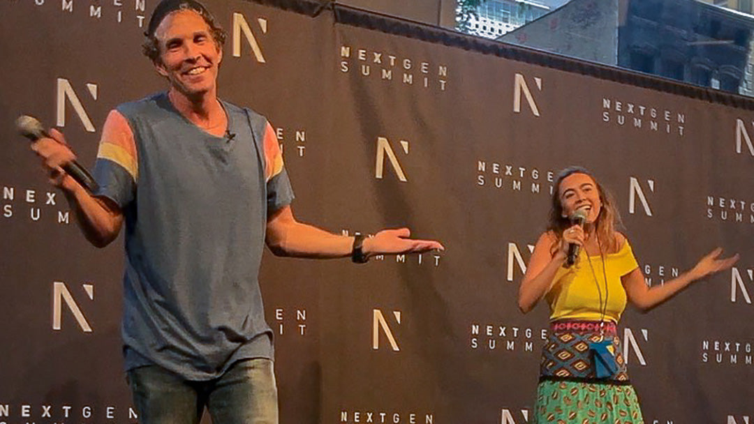 Jesse Itzler and Amanda McCreight Next Gen Summit