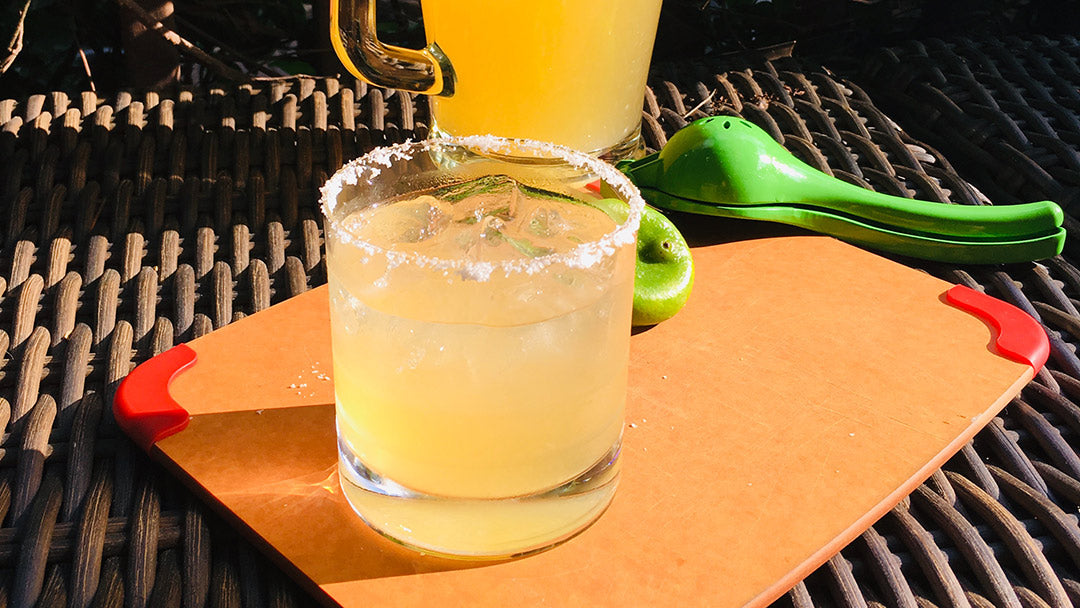 Lower Sugar Margarita Made with Allulose