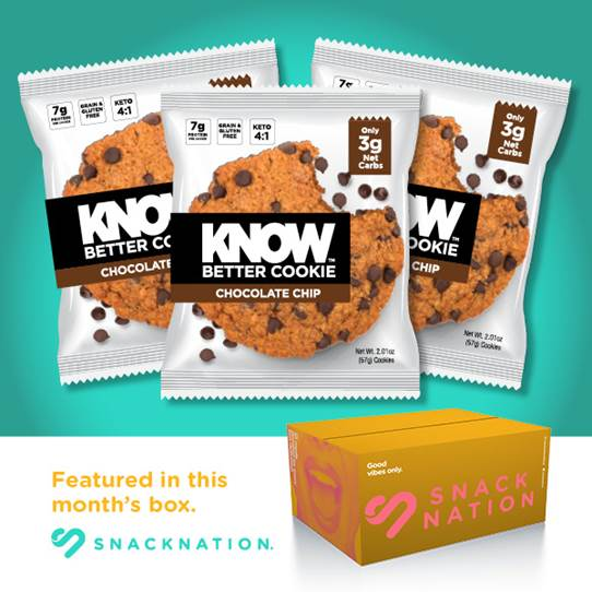 KNOW Foods + SnackNation = Major Win