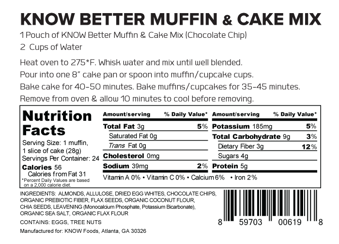 KNOW Better Cake Mix