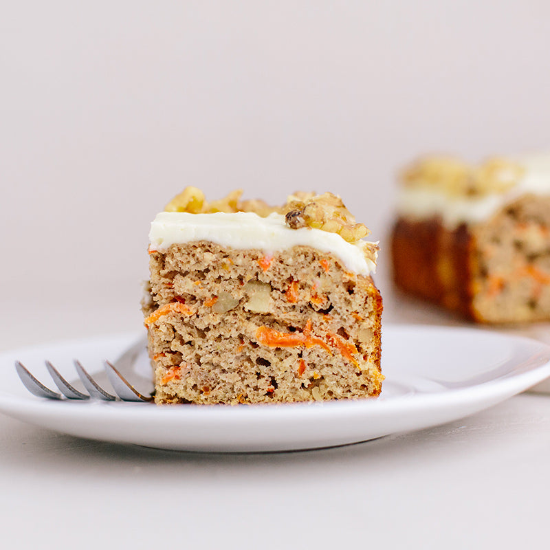 Carrot Cake made from KNOW Better Cake Mix