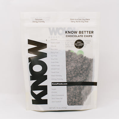 KNOW Better Chocolate Chips in Bag