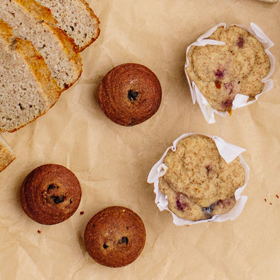 KNOW Better Muffins with bread and homemade muffins