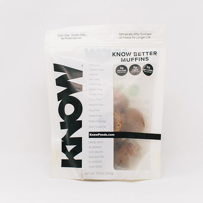 KNOW Better Muffins packaging