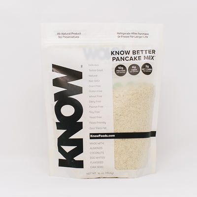 KNOW Better Pancake Mix Package