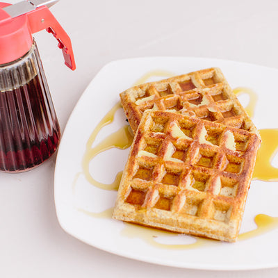 KNOW Better Classic Waffles with Syrup