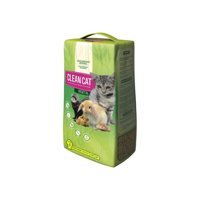 Clean Cat Vegetal 10 kg