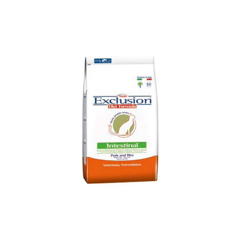 Exclusion Intestinal Gato Cerdo Arroz 2Kg