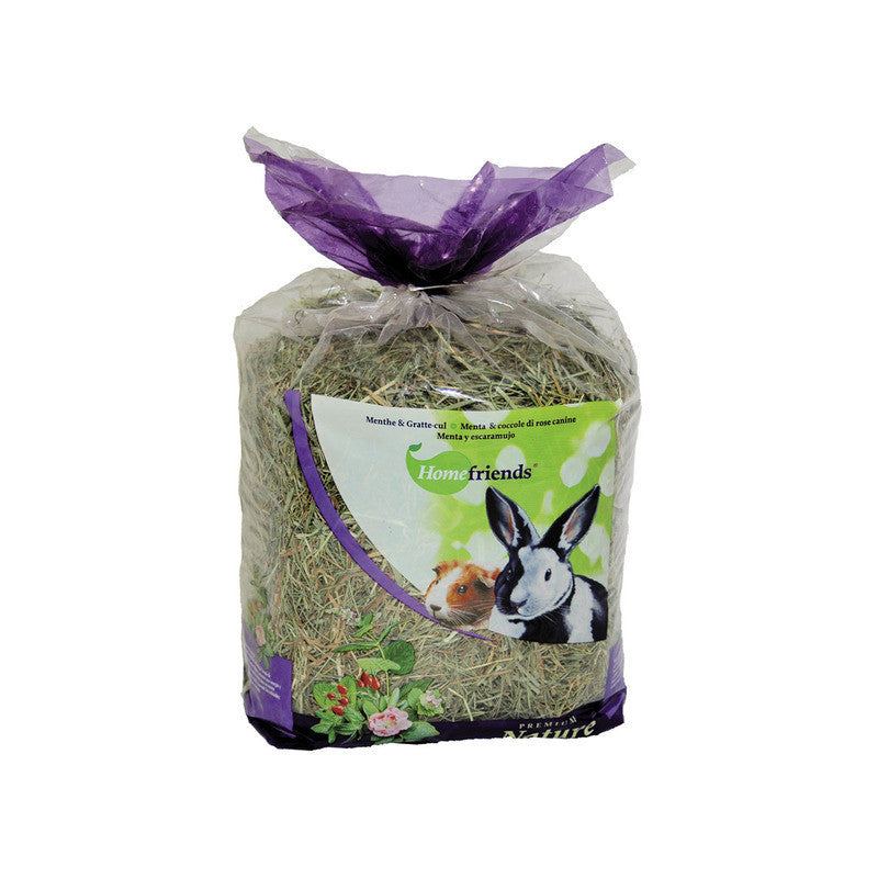 Heno Home Friends menta/escaramujo 500g