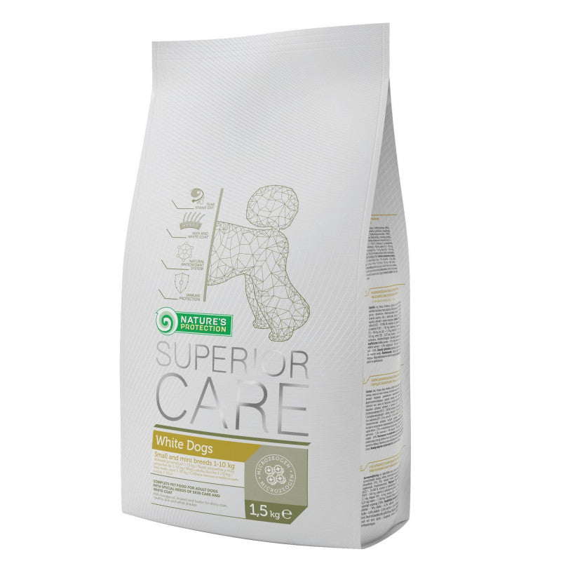 Nature´s Protection White Dog Small 1.5Kg