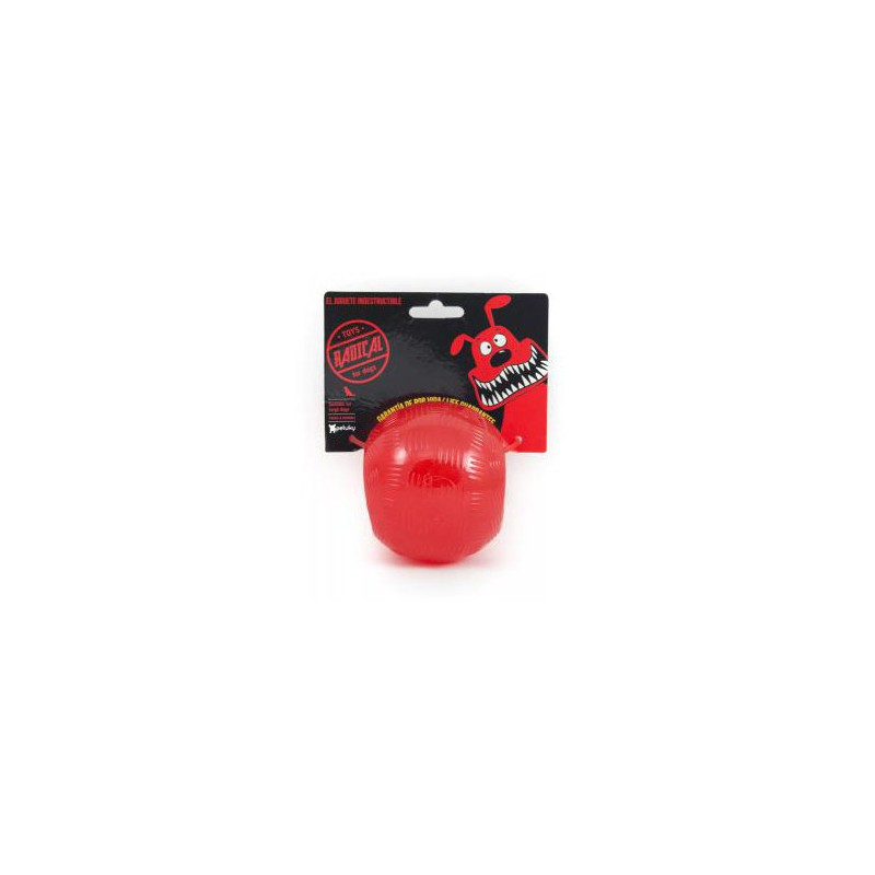 Radical Rojo Bola indestructible S 6cm