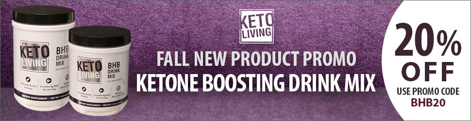 Fall Special - Ketone Boosting Drink Mix only 20% Off with code BHB20