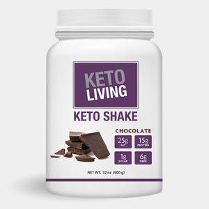 Keto Living Chocolate High Fat KETO SHAKE