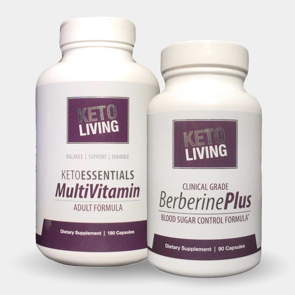 KetoEssentials Multivitamin & Berberine Plus Combo Pack