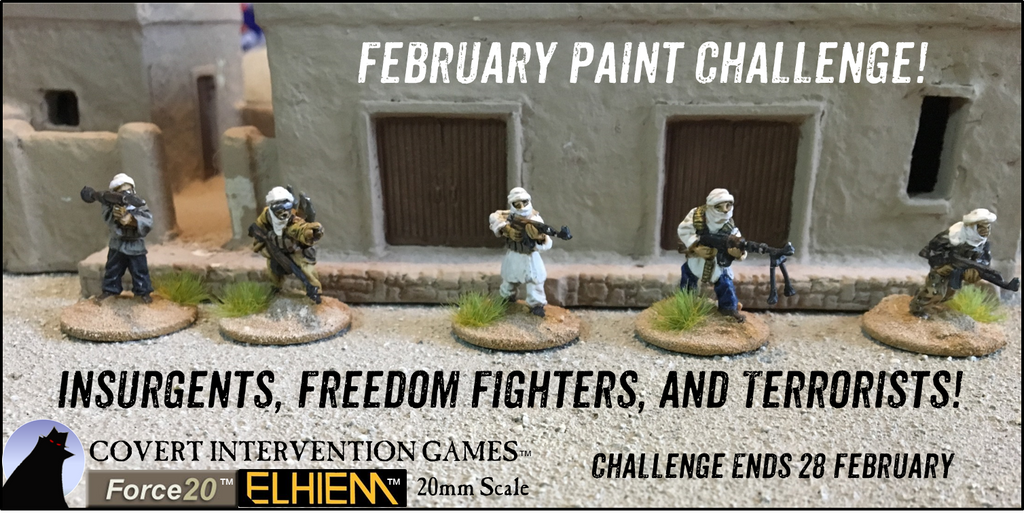 February Paint Challenge! -