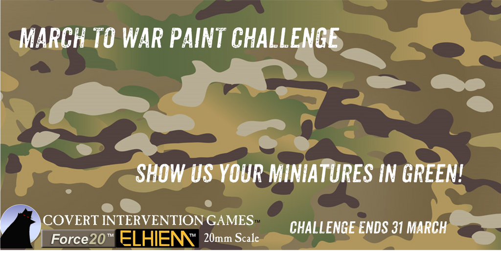 MARCH TO WAR - Paint Challenge