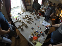 Game Play using Force20 miniatures