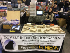 Covert Intervention Games Booth