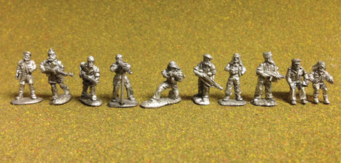 British Raiders-LRDG / SAS / SBS  Group A  - World War 2 - DS-04