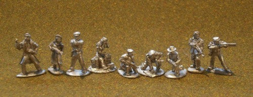 French Maquis / Guerilla Fighters - Group A - World War 2 - DS-07