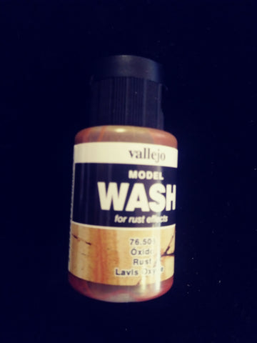 Vallejo Rust Wash