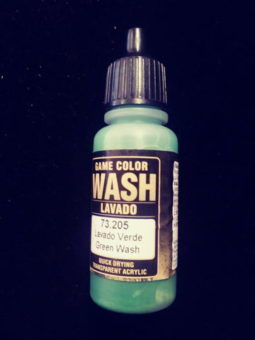 Game Color Wash Green Wash