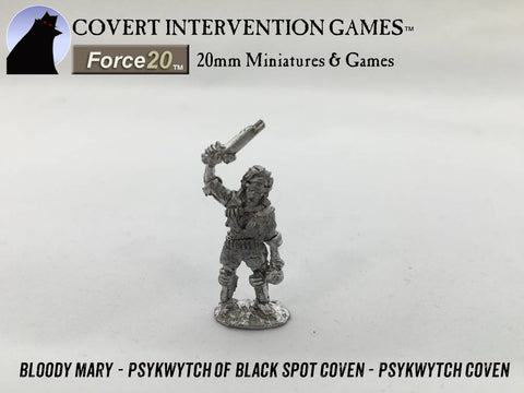 PsykWytch Coven -  Bloody Mary Black Spot Coven PsykWytch Hero - DD-0601