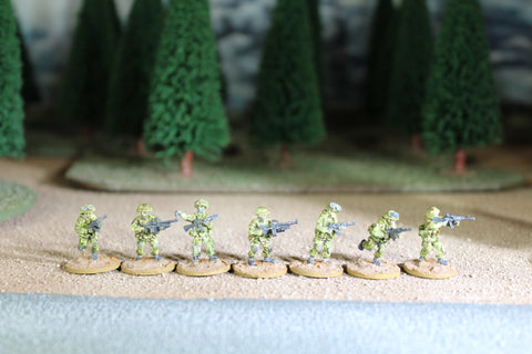 RUSFED Ground Forces Motorized Machinegun Squad 2 - RUSG-0006