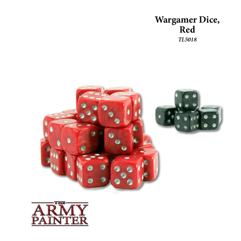 Wargamer Dice Red
