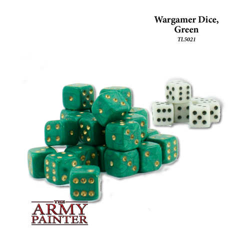 Wargamer Dice Green
