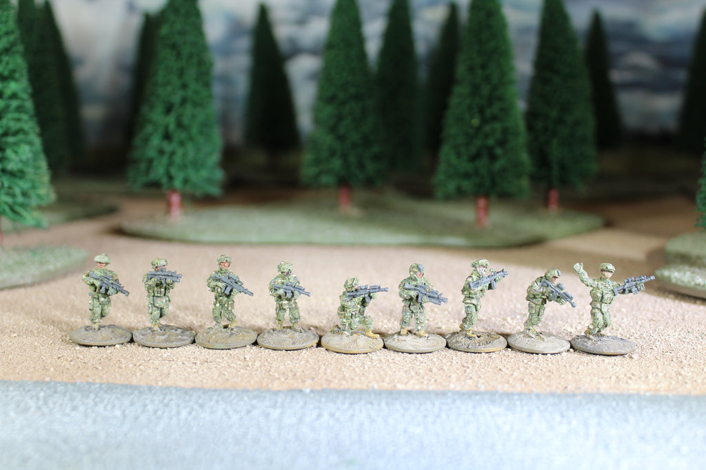 US Army Infantry Rifle Squad 2 - USAR - 0002