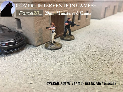 Reluctant Heroes - Undercover Special Agents Team 1 - RH-0101