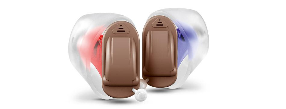 Signia Silk 1Nx instant fit CIC invisible hearing aid - ion hearing