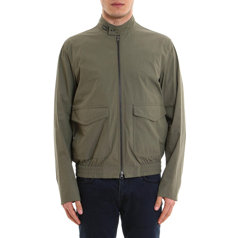 Fay Pocket Detail Bomber Jacket