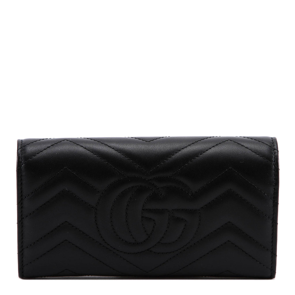 8d69fd4fee60 Gucci GG Marmont Continental Wallet – Cettire