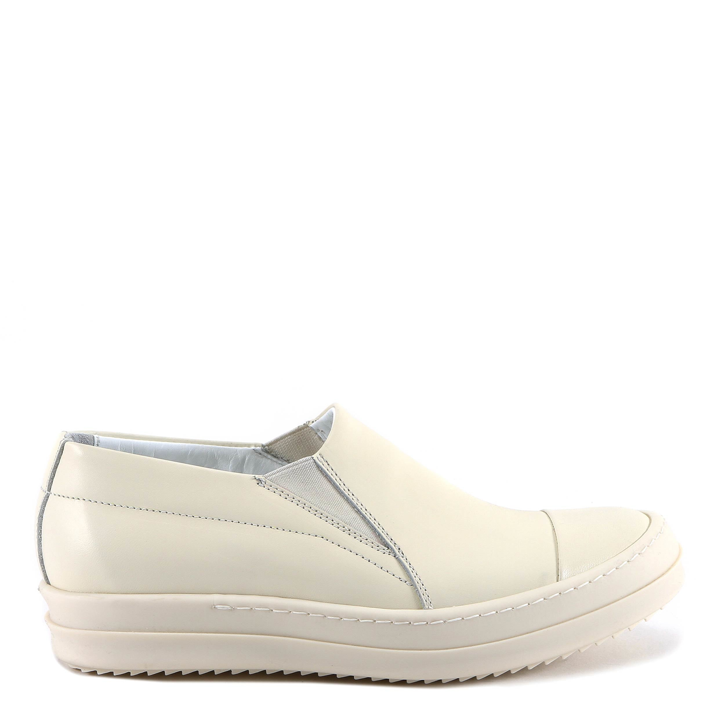 RICK OWENS SLIP ON SNEAKERS