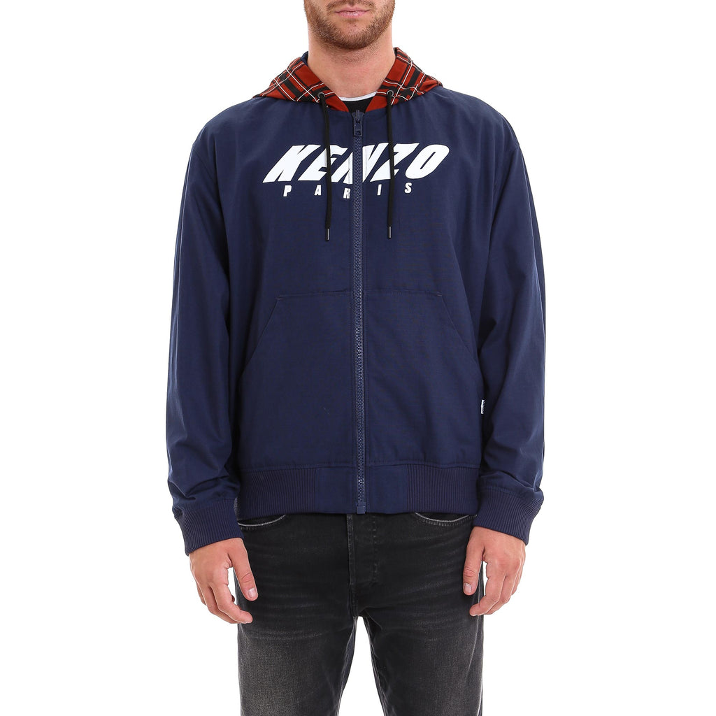 db17205688e Kenzo Contrasting Hooded Jacket – Cettire