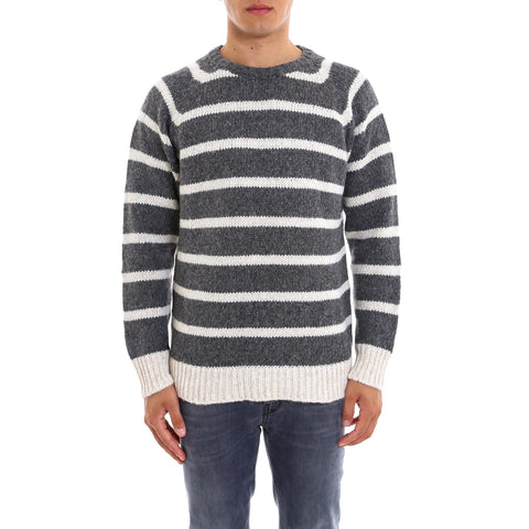 Nuur Striped Round-Neck Jumper