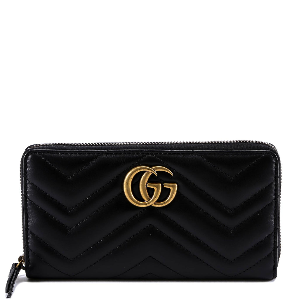 5f80b34cb7af Gucci GG Marmont Zip Wallet – Cettire