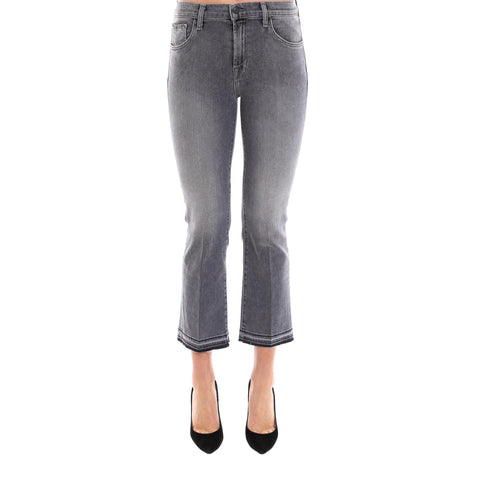 J Brand Cropped Flare Jeans