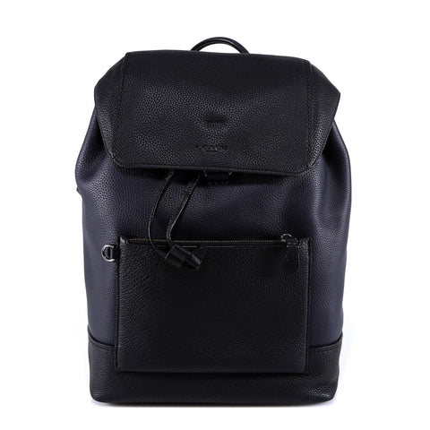 Coach Logo Embossed Backpack