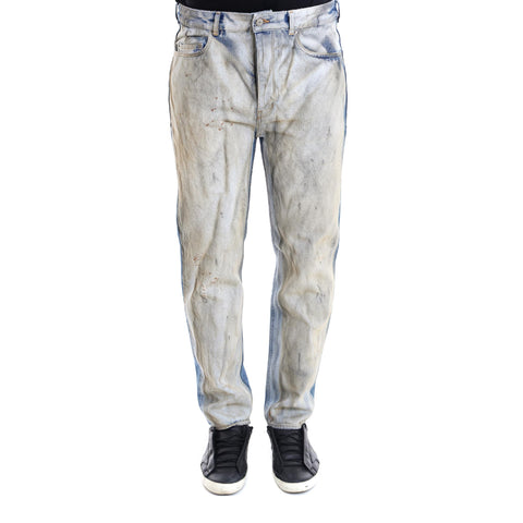 Golden Goose Deluxe Brand Distressed Colour Block Jeans