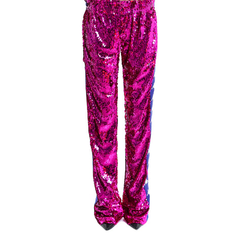 Faith Connexion Sequinned Track Pants