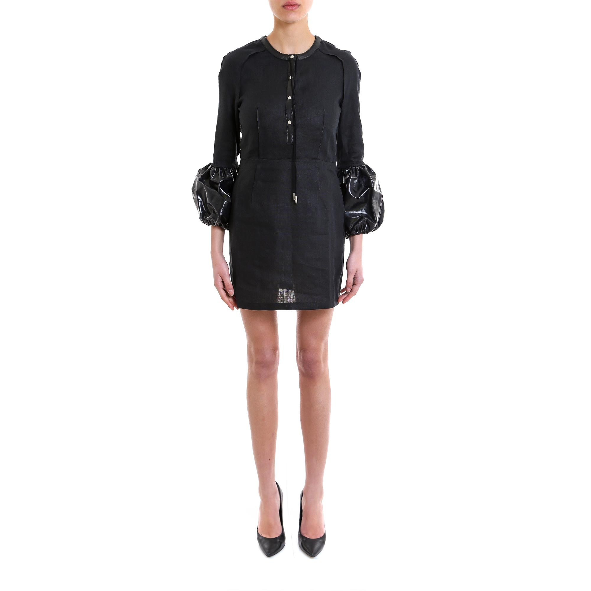 JW ANDERSON BALLOON SLEEVE MINI DRESS