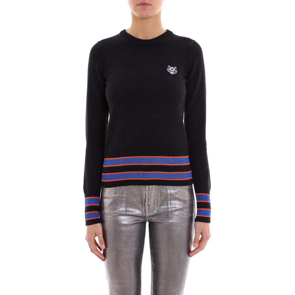 3ad7c0a55b Kenzo Tiger Patch Striped Jumper – Cettire