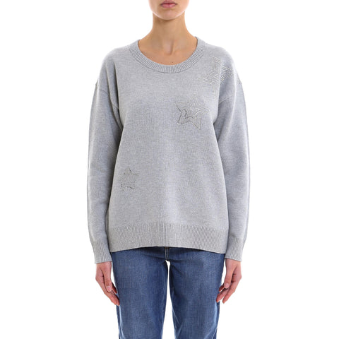 Michael Michael Kors Star Embellished Sweater