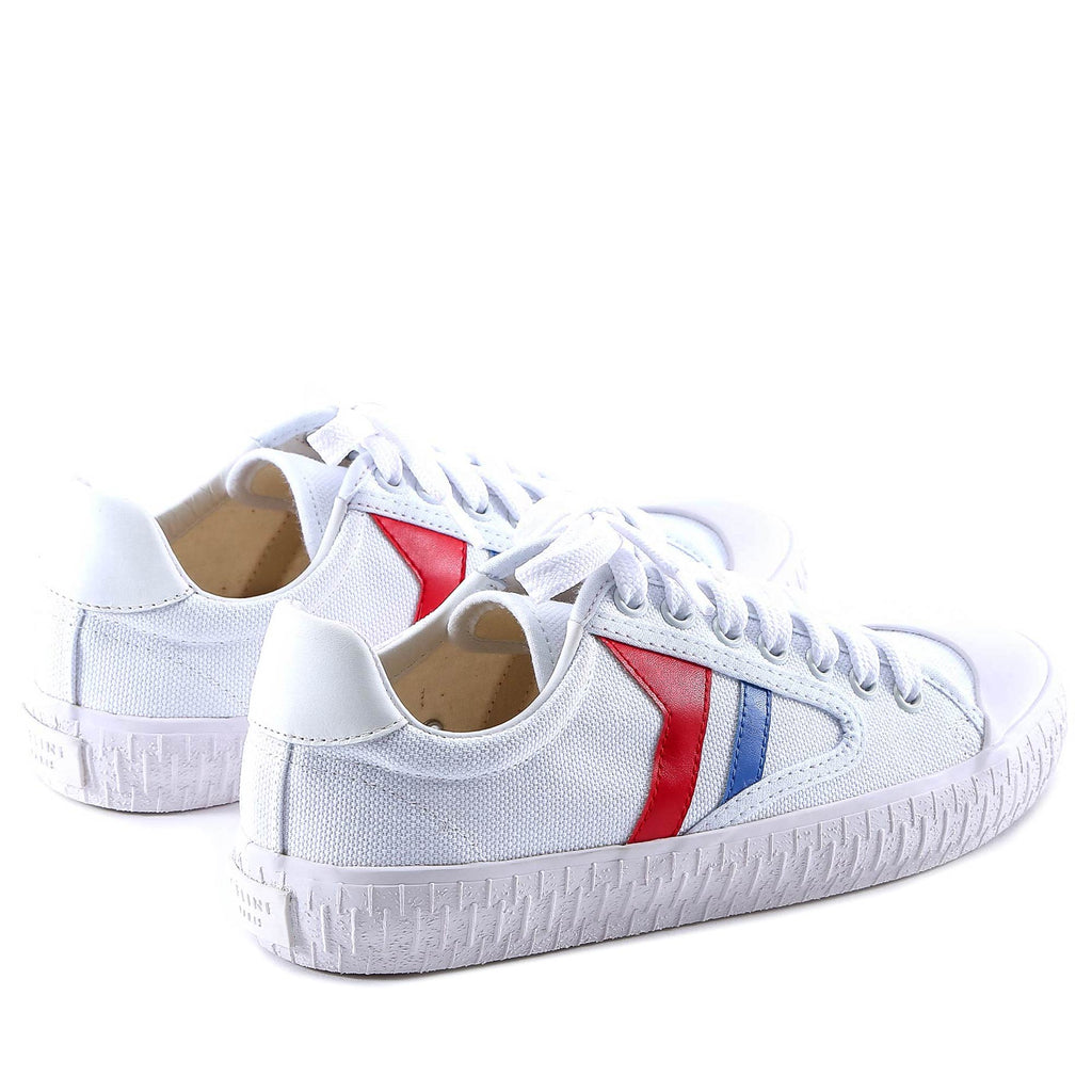 Lace-Up Rubber Toe Sneakers - IT36 / White Celine U5ZtmAgI7