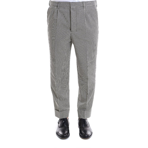 Ami Alexandre Mattiussi Checked Tailored Trousers