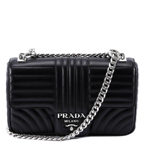 Prada Bevelled Shoulder Bag